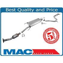 06-12 Rav4 2.4L 2.5L Davico Converter Exhaust System Pipe & Muffler 55544 55545