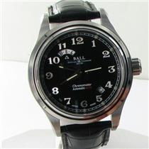 Ball GM1020D-LCJ-BK Trainmaster Cleveland UTC Date Black Dial Watch NWT $3699
