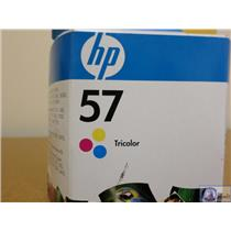 Brand New OEM HP C6657AN 57 Tri-Color Ink Cartridges 500pgs Old Sealed Box