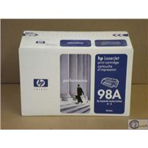Brand New OEM HP 98A LaserJet Black Toner Cartridge 92298A 4,4+,4M,4M+,5,5M,5N