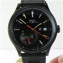 Ball for BMW Power Reserve Automatic Watch PM3010C-P1CFJ-BK Black DLC NWT $4999