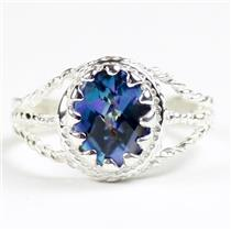Neptune Garden Topaz, 925 Sterling Silver Ladies Ring, SR070