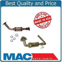 00-02 Tundra 4.7L Left & Right Front Catalytic Converter W/Gaskets 18148 18146