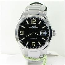 Ball NM2026C-S4CAJ-BK Engineer II Pioneer COSC Black Dial 40mm Watch NWT $2499