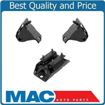 00-01 Jeep Cherokee 4.0L Front L & R Engine Motor Mounts + Transmission 3Pc Kit