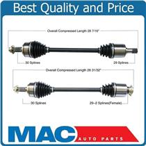 (2) 100% New Complete CV Axle Shaft Fits For 06-13 Ridgeline Front Left & Right