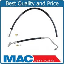 Power Steering Pressure Return Hose Line For 80-86 GM Pick Up 2nd Design 2Pc