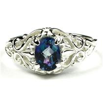 Neptune Garden Topaz, 925 Sterling Silver Ladies Ring, SR113