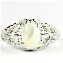Mother of Pearl, 925 Sterling Silver Ladies Ring, SR113