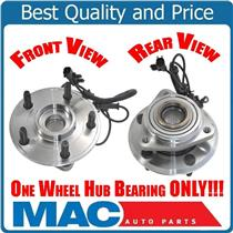 (1) 100% New Torque Tested 07-14 Wrangler For FRONT Axle Bearing & Hub Assembly