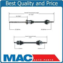 (2) 100% New CV Drive Axle Shaft Fits Quest 04-09 Frt L & R With 5 Speed Auto