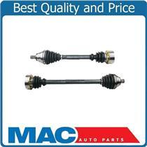 (2) 100% New CV Drive Axle Shaft Jetta 05-14 Rabbit 06-09 2.5L Manual Trans Only