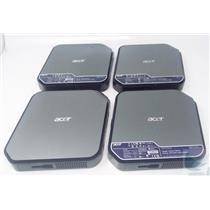 LOT OF 4 ACER Veriton N281G Thin Client w/ Intel Atom D425 @1.8GHz 160 GB HDD
