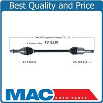 (1) 100% New CV DRIVE AXLE SHAFT REAR Left or Right 13-15 FORD ESCAPE REAR