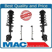 (2) Front Complete Strut Assembly & Sway Bar Links For 11-15 Honda Odyssey