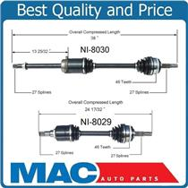 (2) 100% New Torque Tested CV Drive Axle Shafts for Nissan Maxima 89-94 SOHC