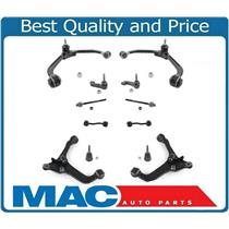 02-04 Liberty Front Lower & Upper Control Arms Tie Rods Sway Bar Ball Joints