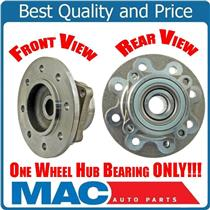 (1) Front Hub & Wheel Bearing Fits For 94-99 Ram 2500 4Bolt Flange Rear ABS Only