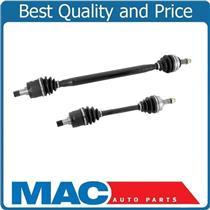 (2) 100% New CV Axle Shaft Fits Prelude 85-87 Frt L & R 2.0L Automatic Transmiss