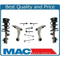 (2) Front Quick Spring Strut and Mount 10pc Kit For 07-12 Nissan Altima  V6 3.5L