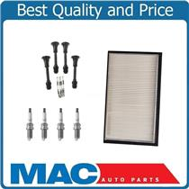 Tune Up Kit Air Filter 4 Coil-On-Plug Boot & Spark Plugs for Nissan Sentra 02-06