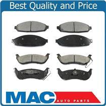 03-11 Town Car Grand Marquis Crown Victoria  Ceramic Brake Pads Front & Rear
