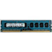 Hynix 4GB PC3-12800 DDR3-1600 ECC Unbuffered 1.5V HMT351U7CFR8C-PB