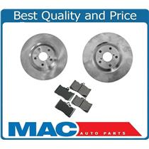(2) Front Brake Rotors & Ceramic Brake Pads for Lexus 2009-2011