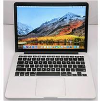 "Apple Macbook Pro MF839LL/A 13.3"" i5-5257U 2.7GHz 128GB SSD 8GB OS High Sierra"