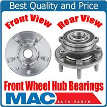 (2) 100% New Wheel Bearing and Hub Assembly Fits Front 13-17 SHO All Wheel Drive