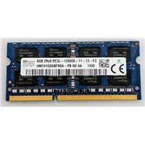Hynix 8GB PC3-12800S DDR3-1600 nonECC Unbufferd SODIMM 1.35V HMT41GS6BFR8A-PB