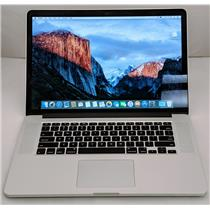 "Apple Macbook Pro MJLT2LL/A 15.4"" i7-4870HQ 2.5GHz 500GB SSD 16GB AMD R9 M370X"