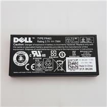 Genuine FR463 Lithium Ion Battery For Dell PE Perc 5i 6i NU209 XJ547 U8735 P9110