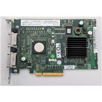 Dell PERC 5/e Dual SAS SATA PCIe Server Controller Card M778G Refurbished