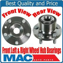 (2) 100% New Front Wheel Bearing and Hub Assembly for Front 08-15 Land Rover LR2