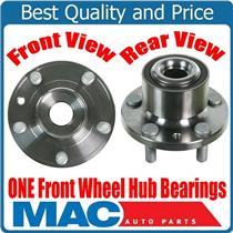(1) 100% New Wheel Bearing and Hub Assembly for Front 08-15 Land Rover LR2