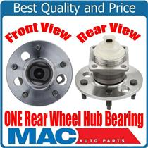 (1) 100% New Rear Hub Bearing Assembly Rear Drum Brakes for 97-03 Buick Century