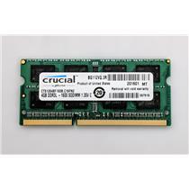 Crucial CT51264BF160B.C16FN2 4GB PC3L-12800S 1600MHz Laptop nonECC Unbuffered