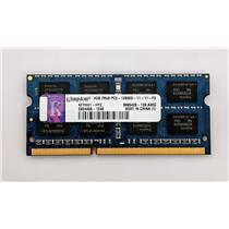 Kingston KFYHV1-HYC 4GB 2Rx8 PC3-12800S 1600MHz DDR3 Laptop nonECC Unbuffered
