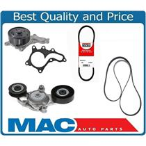Water Pump - Accessory Belts & Belt Tensioner For Toyota Camry 2.5L 2010-2011