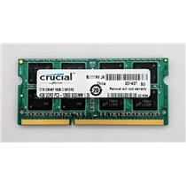 Crucial CT51264BF160B.C16FER2 4GB PC3L-12800S 1600MHz Laptop nonECC Unbuffered