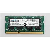 Crucial CT51264BF160B.M16FKR 4GB PC3L-12800S 1600MHz Laptop nonECC Unbuffered