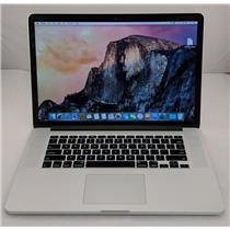 """Apple Macbook Pro MJLT2LL/A 15.4"""" i7-4870HQ 2.5GHz 500GB SSD 16GB Iris Pro 1.5GB"""