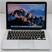 """Apple Macbook Pro MF839LL/A 13.3"""" i5-5257U 2.7GHz 256GB SSD 8GB Sierra 10.12.6"""