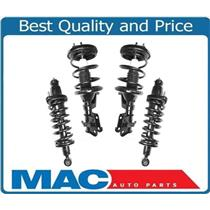01-02 Civic Front & Rear Quick Coil Spring Strut Mount Assembly Set Easy Install