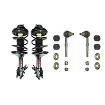 (2) Front Quick Spring Strut and Mount W stabilizer Links for 00-01 Altima 2.4L