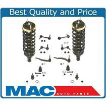 02-03 Trailblazer Ball Joints Tie Rods Sway Bar links 16MM Tie Rods Struts 12Pc