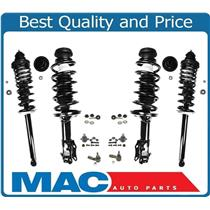 Tie Rods Sway Bar Links Ball Joints for 93-98 Jetta Spring Complete Strut 10Pc