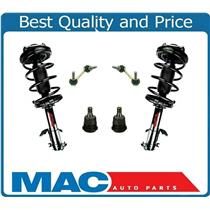 02-03 Maxima / 02-04 I35 NON ELECTRONIC Frt Coil Spring Struts and Mounts 6Pc