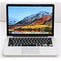 "Apple Macbook Pro MGX72LL/A 13.3"" i5-4278U 2.6GHz 128GB SSD 8GB A1502"